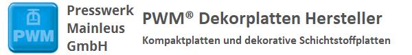 PWM® Dekorplatten Hersteller - Kompaktplatten und dekorative Schichtstoffplatten