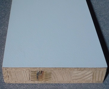 HPL beschichtete Holzplatte Stäbchenverleimt
