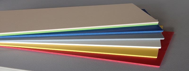 HPL Platten oder Kompaktplatten mit durchgefärbten farbigen Kernen