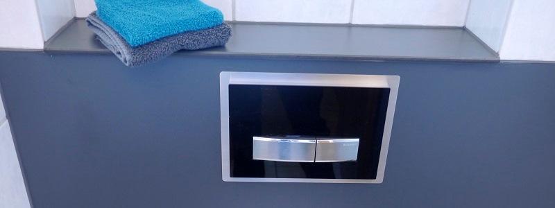 HPL Schichtstoff oder Kompaktplatte als Sanitärverkleidung Vorwandschalung