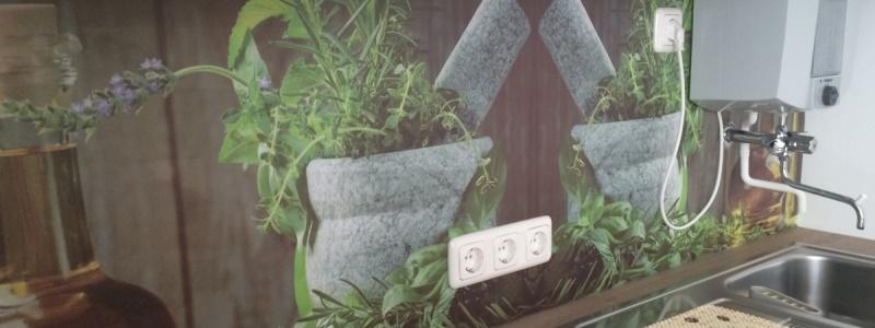 pflegeleichte Küchenrückwand aus HPL Platte oder Kompaktplatte mit Digitaldruck Motiv