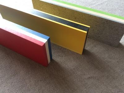 HPL Kompaktplatten Vollkunststoff mit mehrfarbigen Kernen
