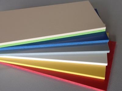 HPL Kompaktplatten mit farbigem Kern