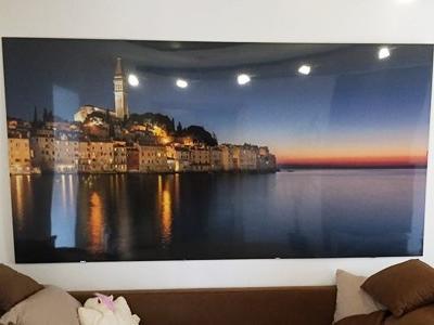 Dekorative HPL Kompakt Schichtstoffplatte mit Digitaldruck und Hochglanzoberfläche als Wandbild