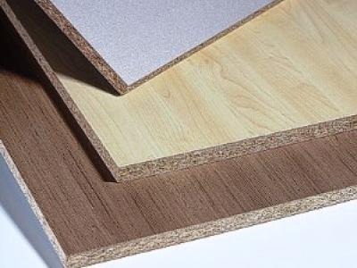 HPL Schichtstoff Laminat auf Spanplatten als Verbundplatten mit Melaminschicht