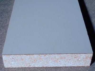 Kunststoff Verbundplatte aus HPL Laminat auf Sasmoxplatte als Träger