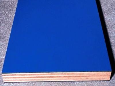 Kunststoff Verbundplatte aus HPL Laminat auf Sperrholzplatte als Träger