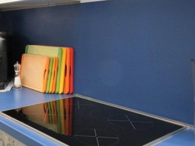 pflegeleichte Küchenrückwand aus HPL Kompaktplatte