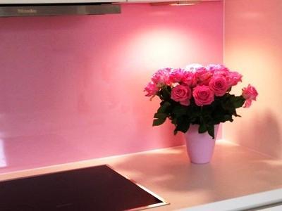 dekorative HPL Kompaktplatte mit Hochglanzoberfläche als Küchenrückwand