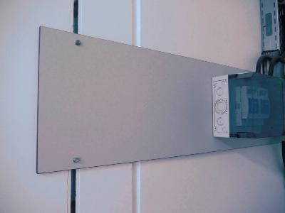 HPL Kompakt Montageplatte für Elektroinstallation